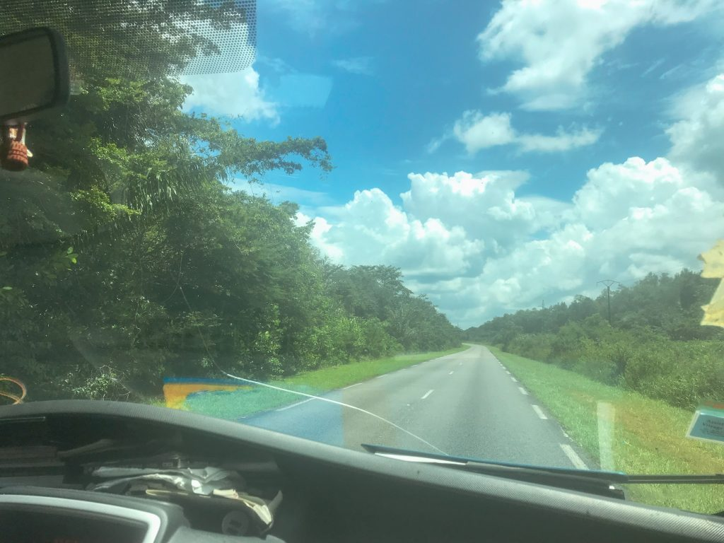 Travelling to Cayenne